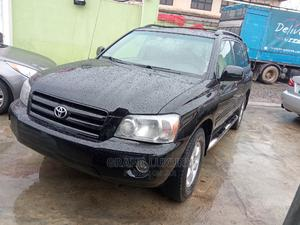 Toyota Highlander 2004 Base FWD Black   Cars for sale in Lagos State, Agege