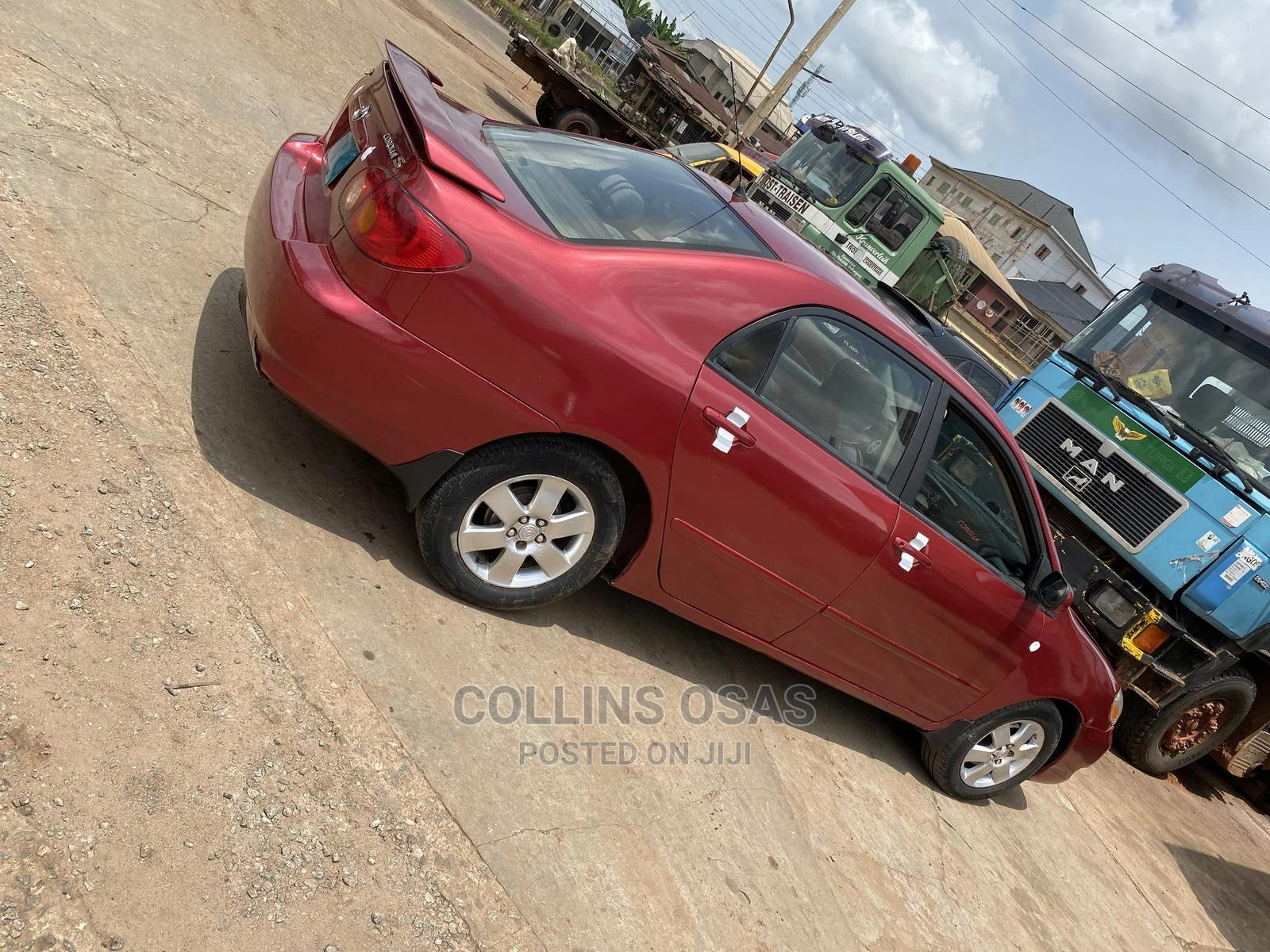 Archive: Toyota Corolla 2004 S Red