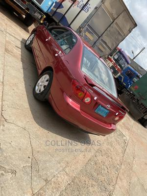 Toyota Corolla 2004 S Red | Cars for sale in Edo State, Benin City