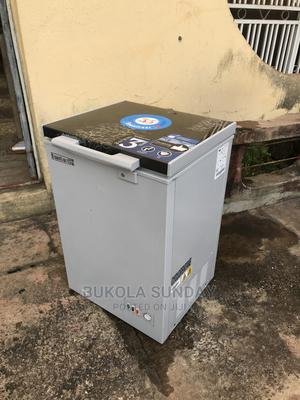 2month Used Scanfrost Chest Freezer SFL111M | Kitchen Appliances for sale in Lagos State, Ikotun/Igando