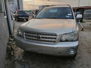 Toyota Highlander 2004 Base FWD Silver   Cars for sale in Lagos State, Ajah