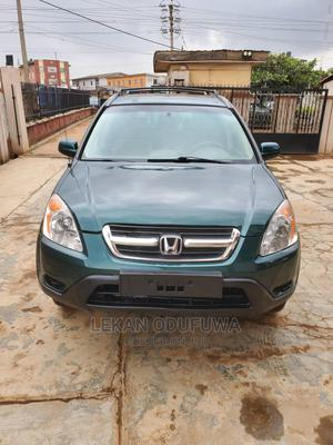 Honda CR-V 2004 EX 4WD Automatic Green   Cars for sale in Lagos State, Ikorodu