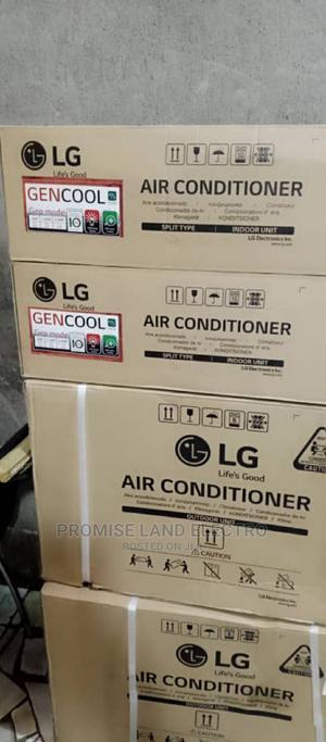 LG 1hp Inverter Split Unit Air-Condition Percent Coper | Home Appliances for sale in Lagos State, Ikeja