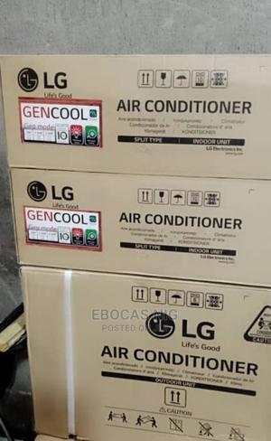 LG 1hp Inverter Split Unit Air-Condition Percent Coper | Home Appliances for sale in Lagos State, Gbagada