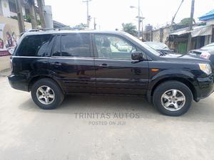 Honda Pilot 2008 EX-L 4x4 (3.5L 6cyl 5A) Black | Cars for sale in Lagos State, Surulere