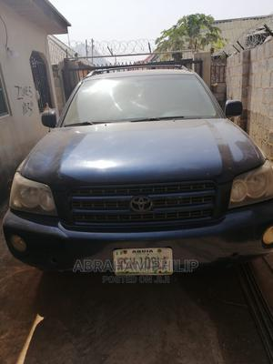 Toyota Highlander 2005 4x4 Blue | Cars for sale in Abuja (FCT) State, Kubwa