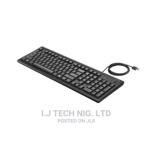 Hp Wired Keyboard Usb | Computer Accessories  for sale in Lagos State, Ikeja