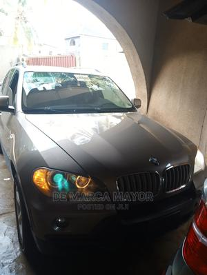 BMW X5 2008 3.0i Brown | Cars for sale in Lagos State, Abule Egba