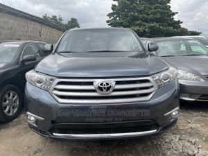 Toyota Highlander 2013 Limited 3.5l 4WD Gray | Cars for sale in Lagos State, Ikeja