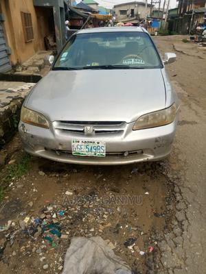 Honda Accord 2001 Coupe Silver   Cars for sale in Lagos State, Oshodi