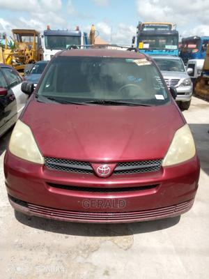 Toyota Sienna 2004 LE FWD (3.3L V6 5A) Red | Cars for sale in Lagos State, Surulere