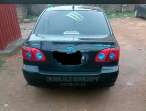 Toyota Corolla 2007 LE Black | Cars for sale in Abuja (FCT) State, Mararaba