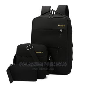 Unisex 3 in 1 Laptop Backpack, Cross Bag and Purse | Bags for sale in Osun State, Ife