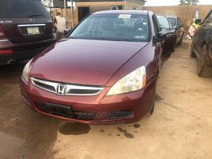 Honda Accord 2007 Red | Cars for sale in Lagos State, Ikorodu