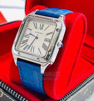 Cartier Leather Wristwatch Also in Black   Watches for sale in Lagos State, Lagos Island (Eko)