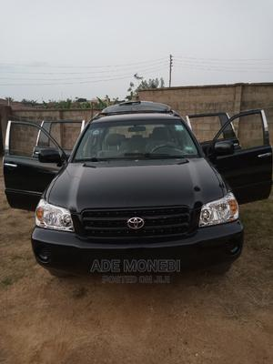 Toyota Highlander 2005 V6 Black | Cars for sale in Ondo State, Akure