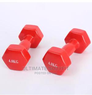 Brand New 4kg Aerobic Dumbbell | Sports Equipment for sale in Lagos State, Surulere