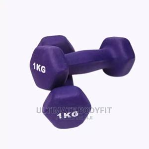 Brand New 1kg Aerobic Dumbbell | Sports Equipment for sale in Lagos State, Surulere