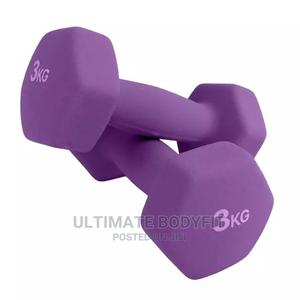 Brand New 3kg Aerobic Dumbbell | Sports Equipment for sale in Lagos State, Surulere
