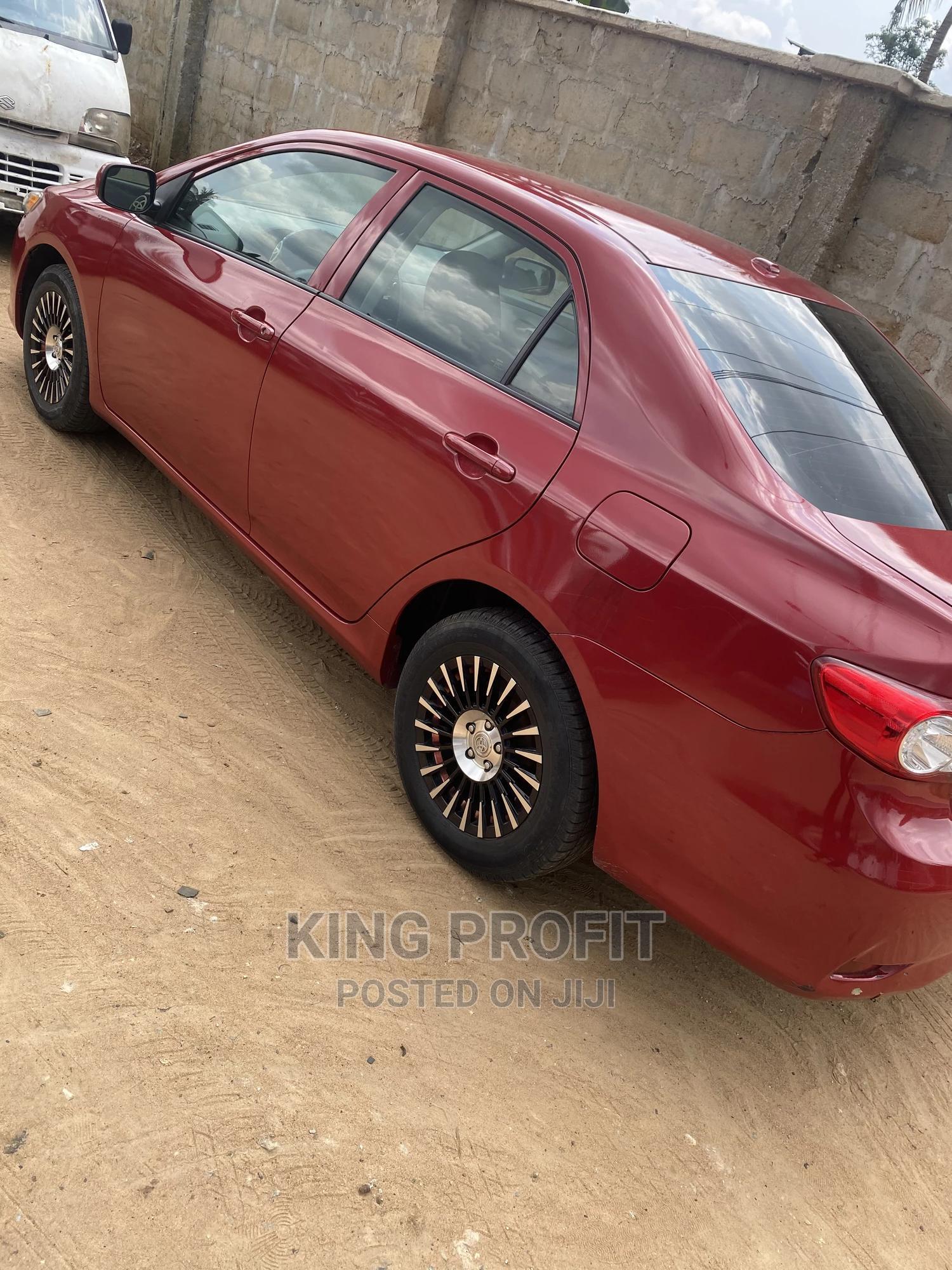 Toyota Corolla 2010 Red   Cars for sale in Uyo, Akwa Ibom State, Nigeria