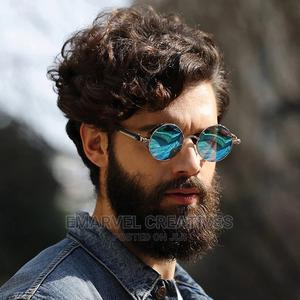 Round Metal Sunglasses Steampunk Men Women Fashion Glasses | Clothing Accessories for sale in Lagos State, Surulere