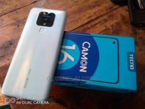 Tecno Camon 16 128 GB White   Mobile Phones for sale in Lagos State, Alimosho