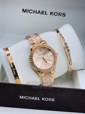 High Quality MICHAEL KORS Gold Watch for Ladies   Watches for sale in Abuja (FCT) State, Asokoro