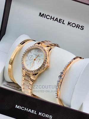 High Quality MICHAEL KORS Goold Chain Watch for Ladies   Watches for sale in Abuja (FCT) State, Asokoro