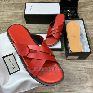 2021 Special Edition GUCCI Palm Slippers, Just Arrived.   Shoes for sale in Lagos State, Lagos Island (Eko)