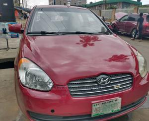 Hyundai Accent 2006 1.3 GLS Red | Cars for sale in Lagos State, Ikeja