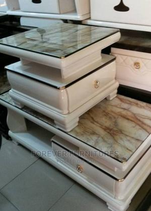 Imported Marble Center Table and Side Stool. | Furniture for sale in Lagos State, Surulere