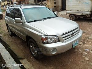 Toyota Highlander 2007 Limited V6 4x4 Gold | Cars for sale in Oyo State, Akinyele