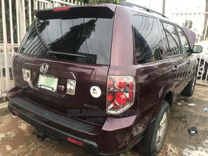 Honda Pilot 2006 EX 4x2 (3.5L 6cyl 5A) Brown | Cars for sale in Lagos State, Ikeja