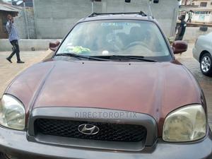 Hyundai Santa Fe 2002 Base FWD Brown   Cars for sale in Lagos State, Ikeja