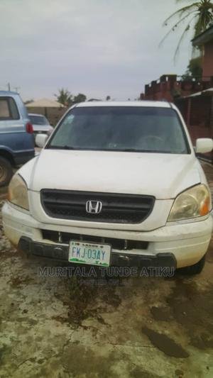 Honda Pilot 2004 White | Cars for sale in Lagos State, Egbe Idimu