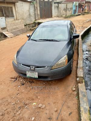 Honda Accord 2005 Black | Cars for sale in Lagos State, Ojodu
