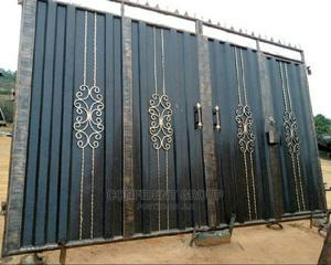 Quality Iron Black Gate | Doors for sale in Rivers State, Port-Harcourt