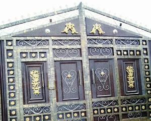 Quality Black Wrough Gate | Doors for sale in Rivers State, Port-Harcourt