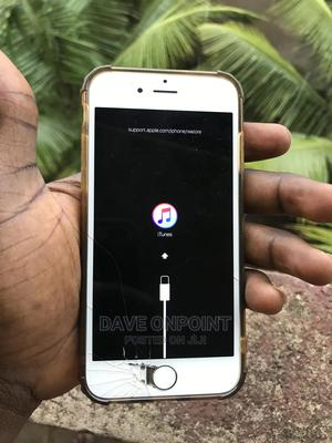 Apple iPhone 6 16 GB White   Mobile Phones for sale in Lagos State, Alimosho