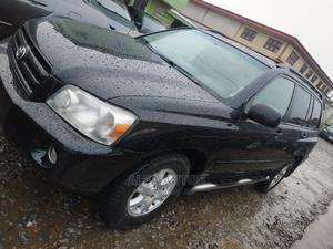 Toyota Highlander 2005 V6 4x4 Black | Cars for sale in Lagos State, Agege
