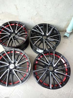 Wheel Rims Available Size 17 and 18 for All Toyota   Vehicle Parts & Accessories for sale in Lagos State, Ojo