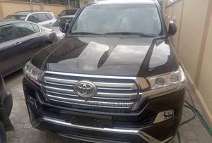 Toyota Land Cruiser 2017 4.5 V8 VXR Black | Cars for sale in Lagos State, Yaba