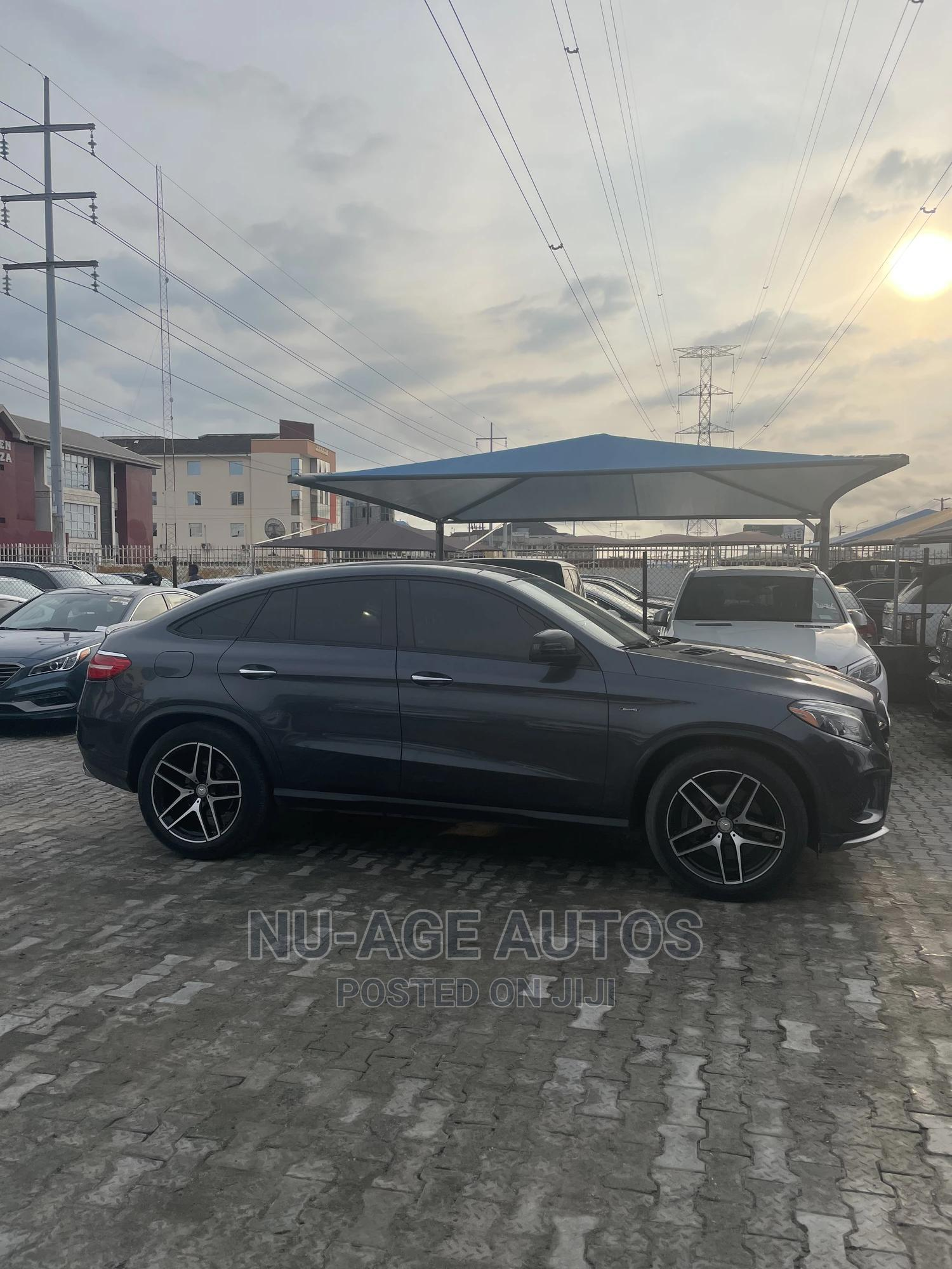Mercedes-Benz GLE-Class 2016 Gray   Cars for sale in Lekki, Lagos State, Nigeria