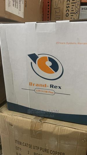 Brandrex Cat5e Indoor Cables Copper 305M | Accessories & Supplies for Electronics for sale in Lagos State, Ikeja