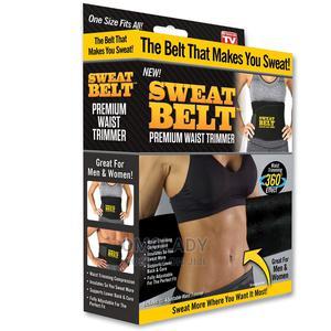 Sweat Belt Premium Waist Trimmer | Sports Equipment for sale in Lagos State, Surulere