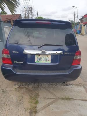 Toyota Highlander 2005 Limited V6 Blue | Cars for sale in Lagos State, Ilupeju