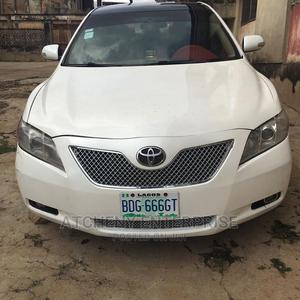 Toyota Camry 2008 2.4 LE White   Cars for sale in Lagos State, Ogba