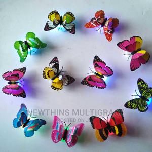 Colorful Changing Butterfly LED Night Glowin Wall Sticker | Home Accessories for sale in Abuja (FCT) State, Kubwa