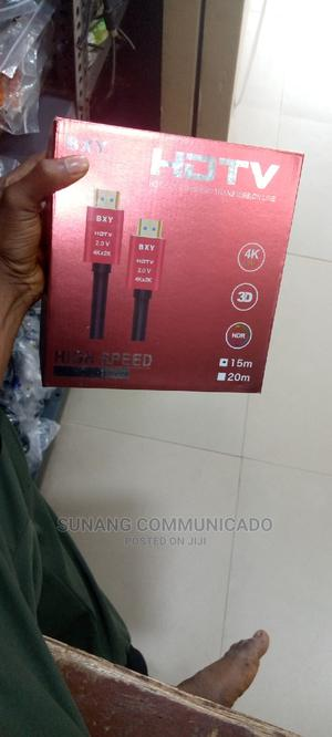 Hdmi 4k Cable 15m | Accessories & Supplies for Electronics for sale in Lagos State, Ikeja