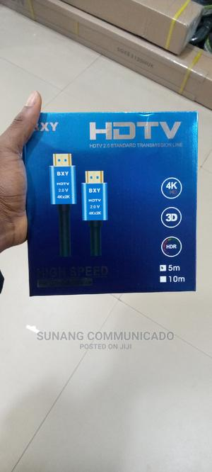 Hdmi 4k Cable 5m | Accessories & Supplies for Electronics for sale in Lagos State, Ikeja